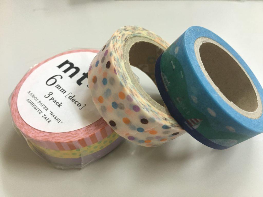 マスキングテープ6mmはかわいい手帳術、キャリアウーマンに人気でオススメ