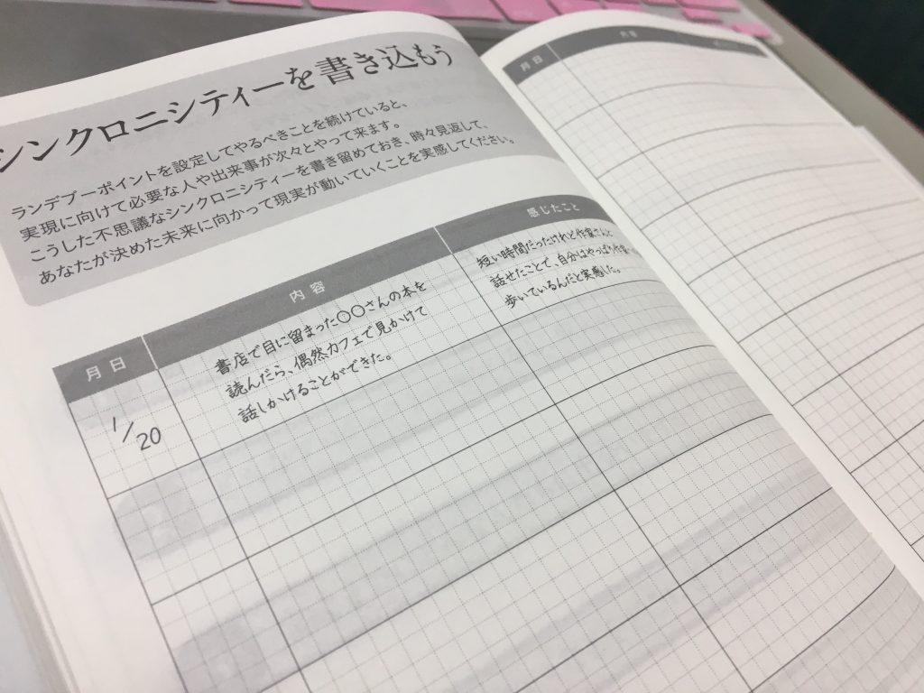 本田健さん講座無料プレゼント シンクロニシティーワーク