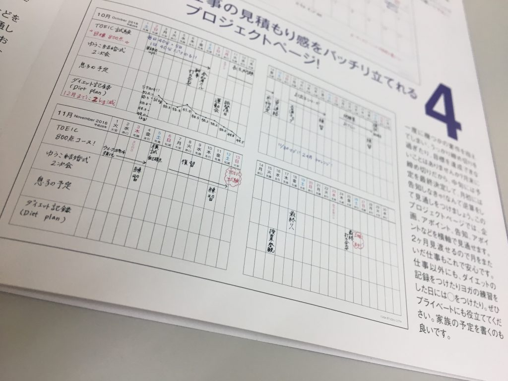 CITTA手帳ライフコーディネーター