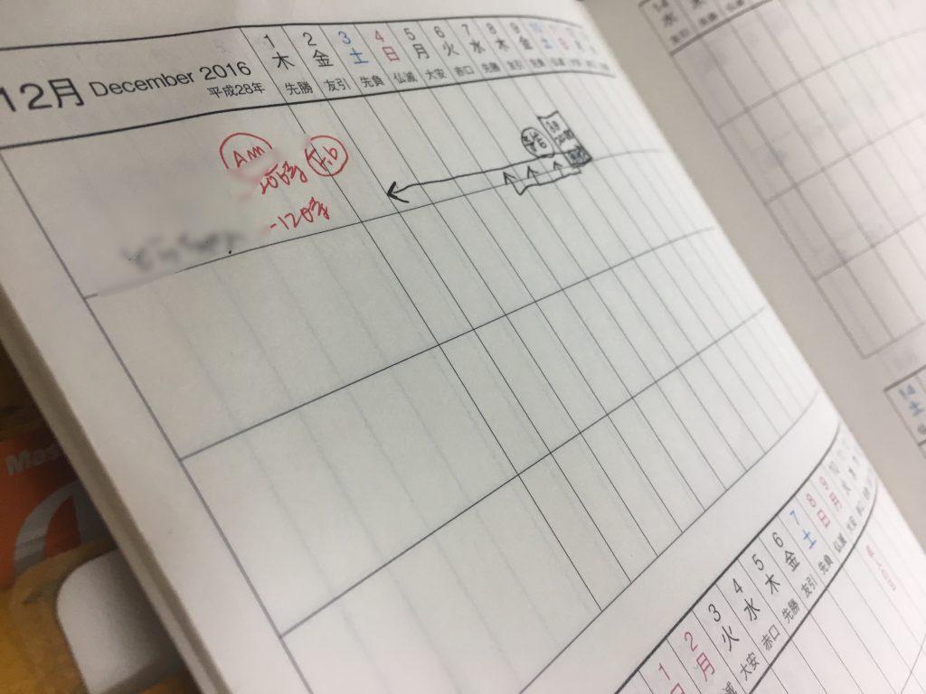 チッタ手帳パーソナルセッション